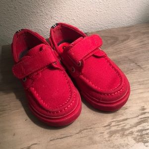 Nautica red toddler shoes